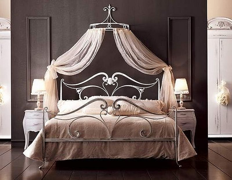 Балдахин над кроватью фото своими руками